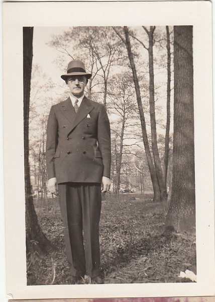 My grandfather David Jones, 1930s.