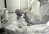 May 6, 1959, first picture of Nathan Edgar Hoover, in University Hospital, Ann Arbor, Michigan