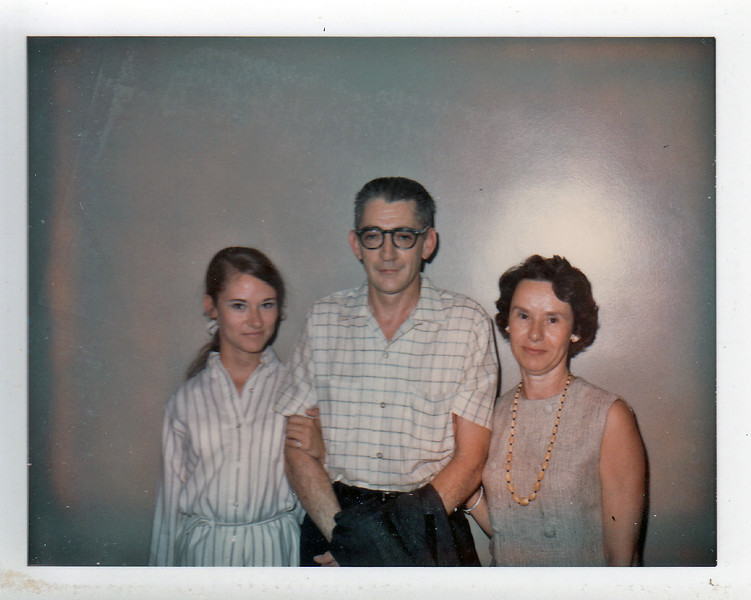 Susan, David and Emily Jones, around 1968.