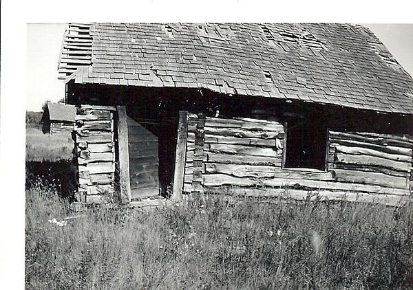 Original Kolka Homestead Stettler, Canada<br /> Taken in 1960 by Violet Kolka