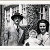 David, Susan and Emily Jones, Easter Sunday, April 17, 1949.