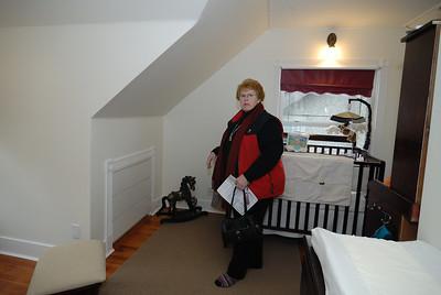Top floor bedroom  - east