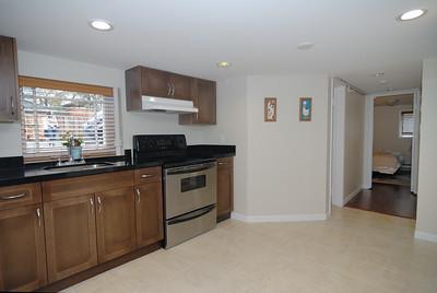 Basement suite kitchen - southwest