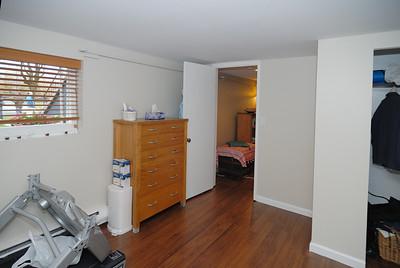 Basement northwest bedroom - view to northeast