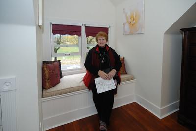 Judy in Master bedroom - north