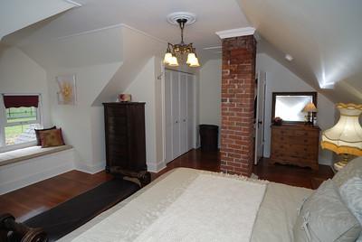 Master bedroom top floor - northeast