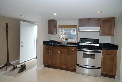 Basement kitchen - south