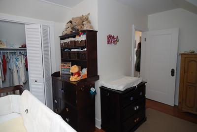 Top floor east bedroom - southwest
