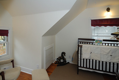 Top floor east bedroom - northeast