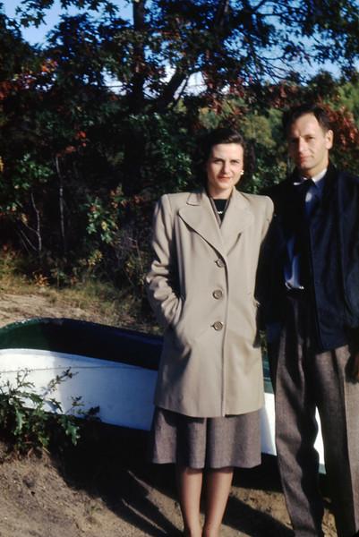 Jean & Jim - 2 October 1948