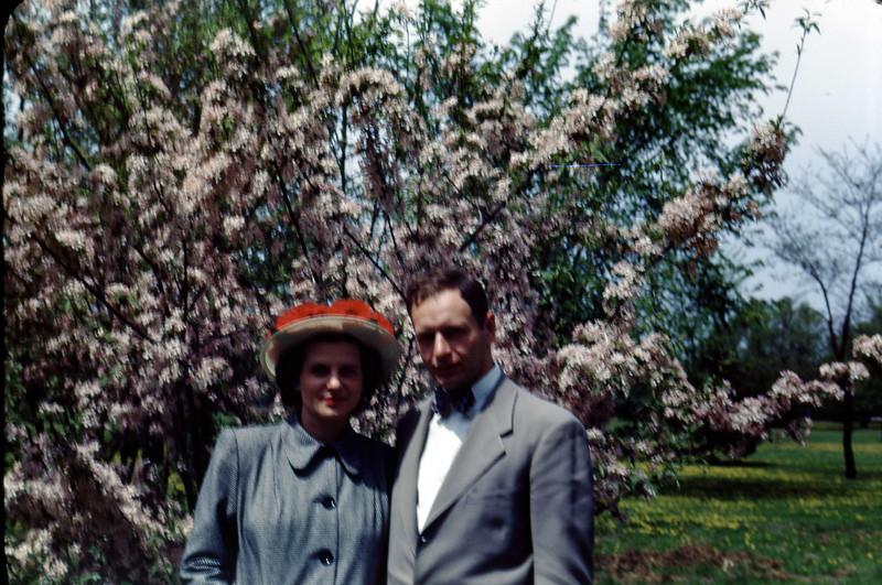 Jean & Jim - May 1949<br /> Ojibway Island - Saginaw, Michigan