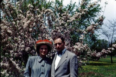 Jean & Jim - May 1949 Ojibway Island - Saginaw, Michigan