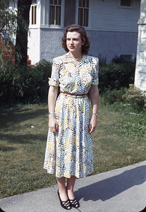 Jean - July 1948 Maywood, Illinois