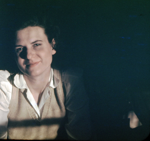 Jean - April 1949<br /> (four months pregnant with Jane)