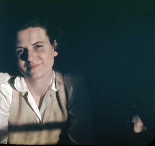 Jean - April 1949 (four months pregnant with Jane)