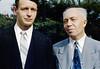 Jim & Frank<br /> 1 September 1950