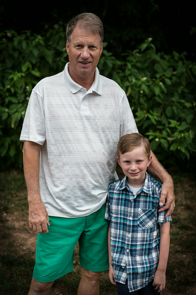 Grandpa and Kyle, August 2014, Virginia. Digital.