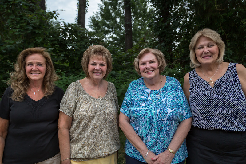 Mom and her sisters. Family Visit in Virginia. Digital. July 2014.