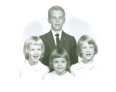 1955 to 1975 - Jackie's Family