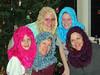 Mary Ann, Sue, Emily, Suzanne & Merie<br /> November 2005