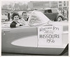 Jim with Miss Missouri 1956