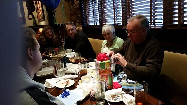 Pat's 80th Birthday