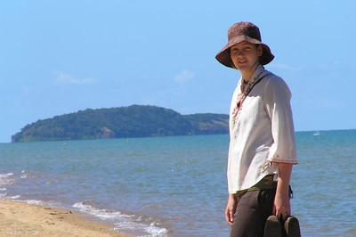 Krishana on Kurrimine Beach