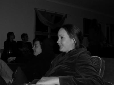 Krishana at her house warming party