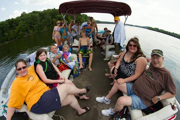 Family Lake Gathering August 2014