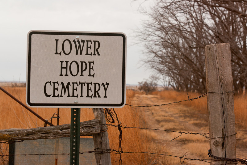 Lower Hope Cemetery is where the Blankeneys are buried.