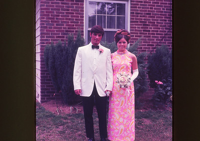 Marilyn and Jack ready for Marilyn's Senior Prom