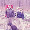 At start of Appalachian Trail Hiking Trip--1969
