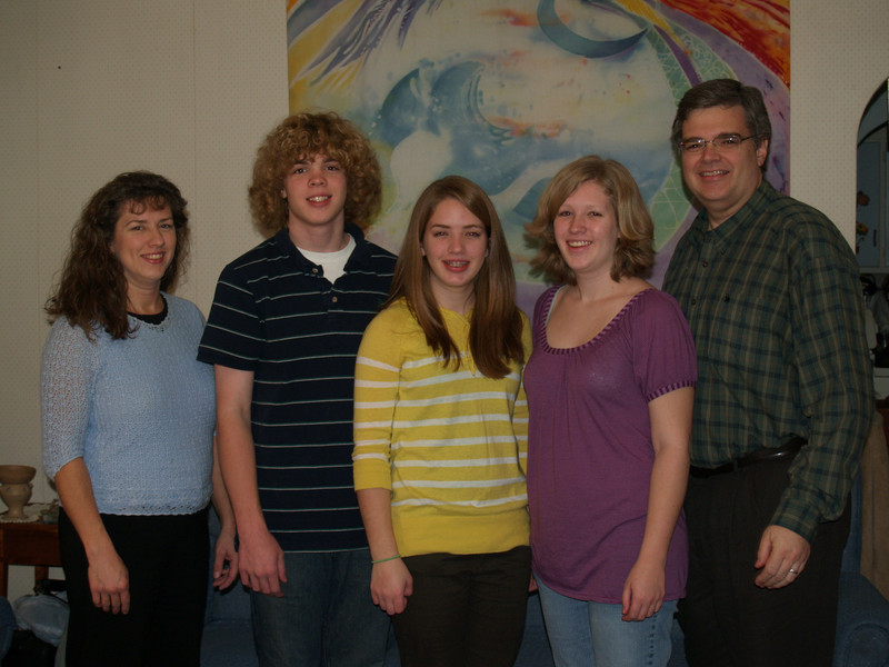 Our family at Thanksgiving