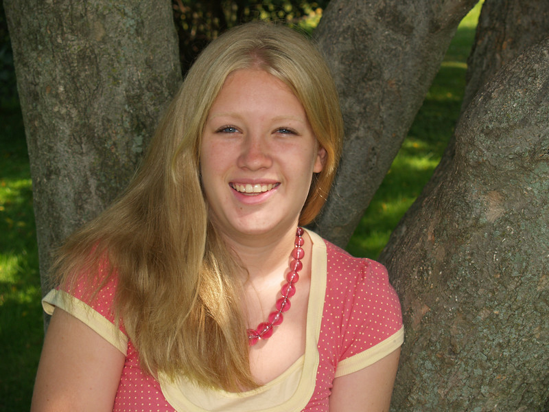 Trudy, Summer 2007-- no more braces!
