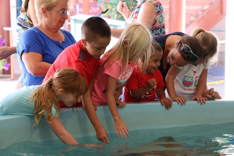 Byrne Family @ Mystic Aquarium 08/10/15