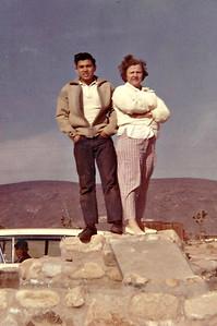 Sam and Granny in Joshua Tree circa 1960.