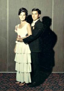 Sam and Len at the Junior/Senior Prom 1966.
