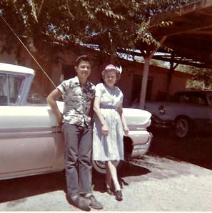 Sam and Granny circa 1960.