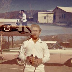 Sam in double exposure circa 1961.