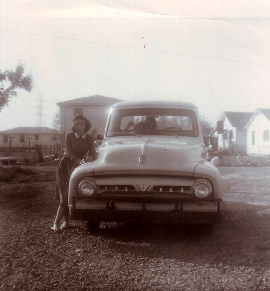 Louise Murray and the 1953 Ford Pickup