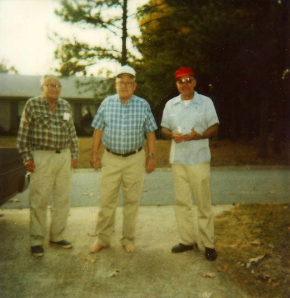 B.H., Carl, and Roy Murray