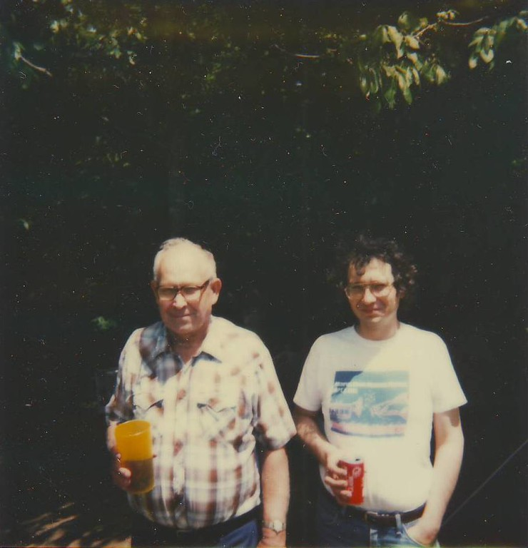 Carl Murray with Wendell Murray