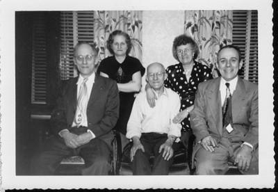 Brothers and Sisters -  John Ranch, Ann Benno (Ronczkowski), Philip Ronczkowski, Frances Ochocki (Ronczkowski), Frank Ranch