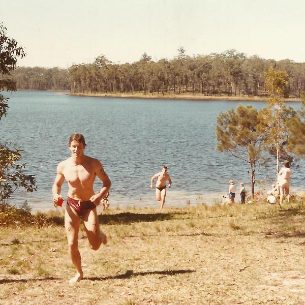 Peter Roderick, Triathalon, ~1985