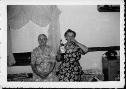 Sophie (Tabisz) Lesniak and Ann (Tabisz) Lesniak (Ann Ranch's Godmother)
