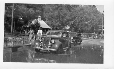 Antonina Tabisz near Dam 37 (1937, Chicago IL)