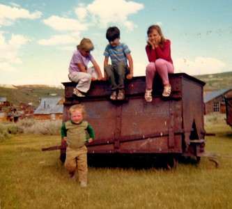 family visit to Bodie Ghost Town