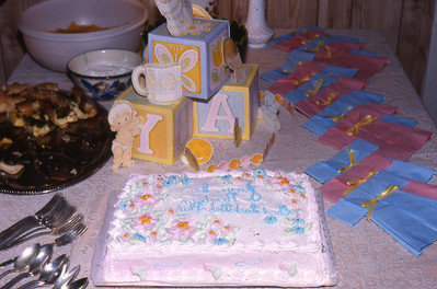 Deb's Baby Shower for Matthew at the Hauser House