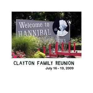 Clayton Family Reunion - July 16 - 19, 2009