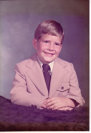 DOUG EDGE JR SON OF DOUG & BARBARA EDGE AT AN EARLY AGE OF
